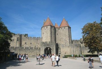 Carcassonne's historic city