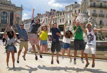 Montpellier entdecken nach dem ersten Kurstag