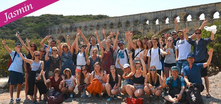 Jasmin's Erfahrungsbericht n°11: Avignon, Uzès und der Pont du Gard